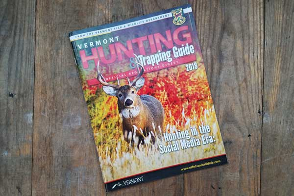 2018 Hunting Regulations Guide cover.