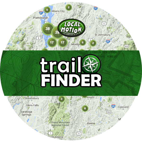 local motion trail finder