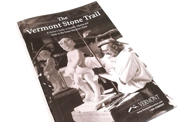 Vermont Stone Trail brochure cover.