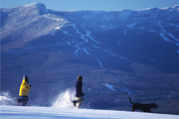 winter sports Mt. Mansfield