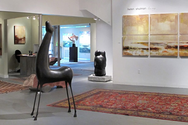 West Branch Gallery in Stowe
