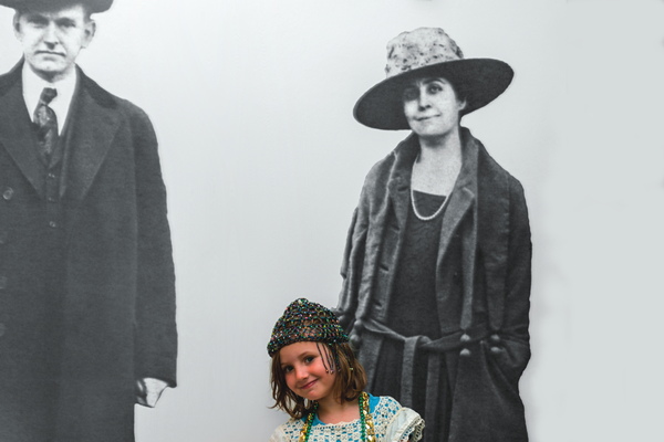 dress-up fun at the President Calvin Coolidge Historic Site