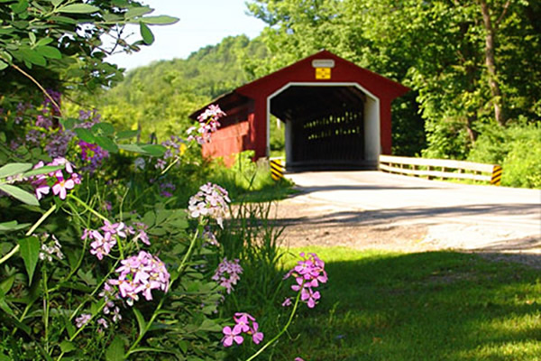 Silk Road Covered Bridge Bennington