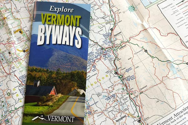 Travel Vermont Vermont Byways VermontVacationcom The - Vermont colleges map