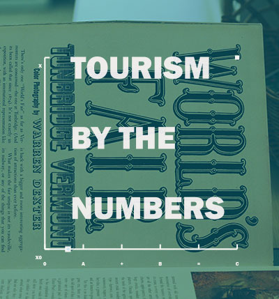Tourism by the numbers.