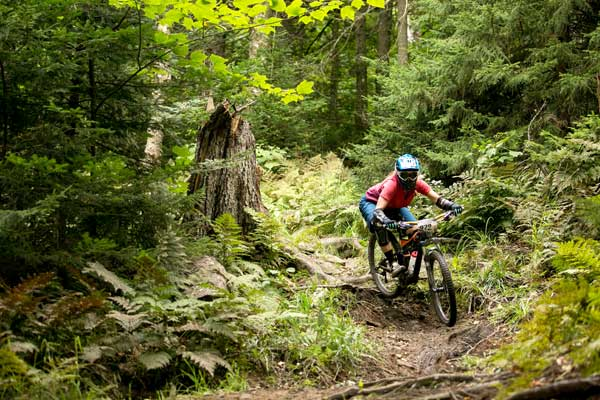 Killington mountain biker