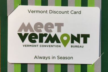 Meet Vermont Discount Card.