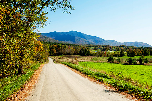 Fall scenic drives in Vermont