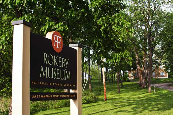 Sign of the Rokeby Musuem