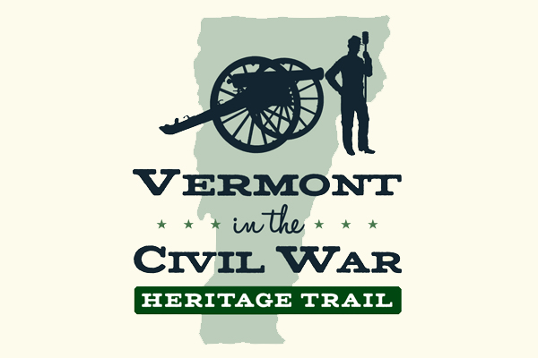 Vermont in the Civil War Heritage Trail logo