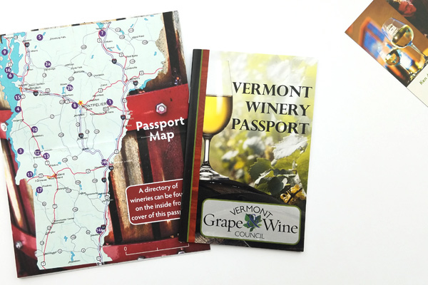 Vermont Winery Passport.