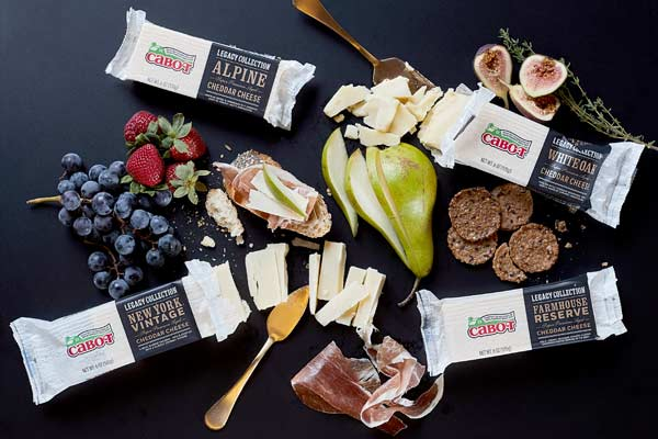 Cabot Cheese Legacy Bars.
