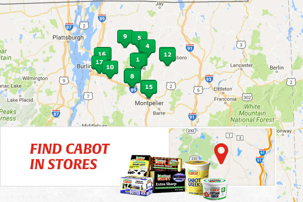 Where to Buy Cabot Cheese? Cabot Store Finder.