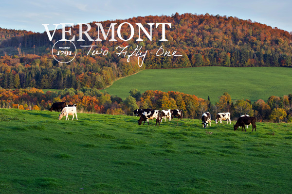 One of Two Fifty-One towns in Vermont during the Fall.