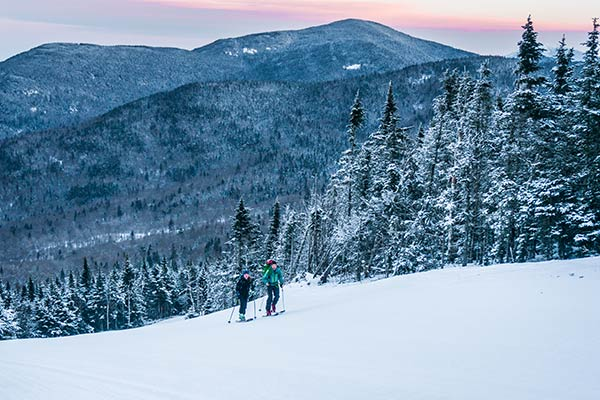 Skinning at Bolton, Vermont