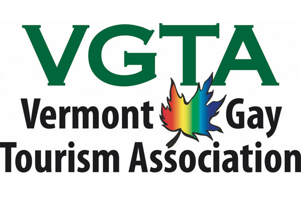 Vermont Gay Tourism Association logo.