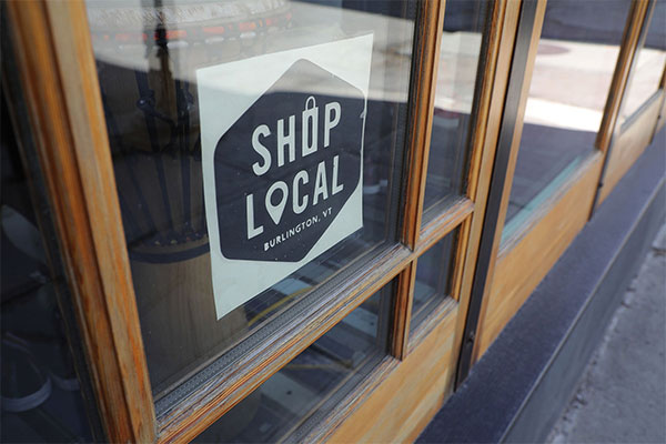 Shop local in Vermont