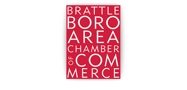 The Brattleboro Area Chamber of Commerce logo.