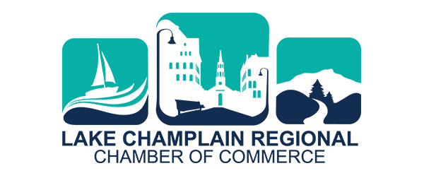 Lake Champlain Regional Chamber of Commerce logo.