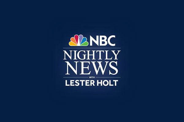 NBC Nighty News with Lester Holt logo.
