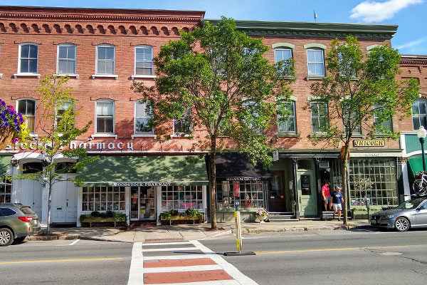 Woodstock Vermont Downtown
