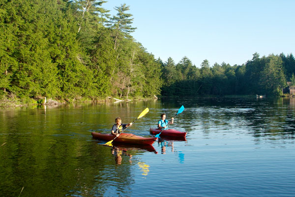 Free Vermont State Park Day Use Kayaking
