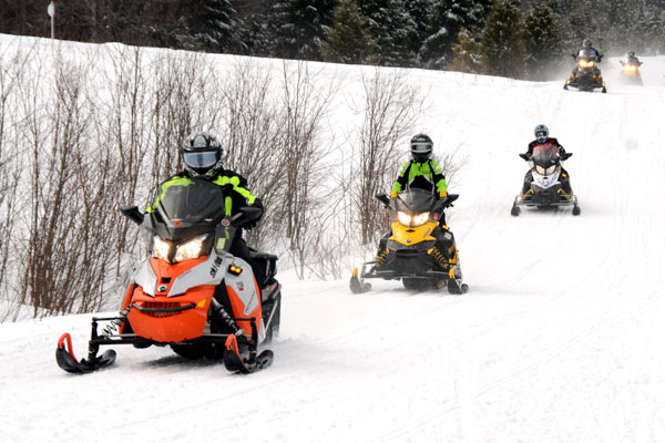 Snowmobiling in Vermont - Recreation - The Official Vermont Tourism on