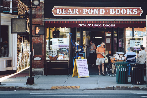 Bear Pond Books in Montpelier Vermont