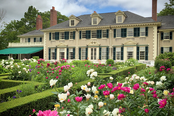 Peak Peonies at Hildene: The Lincoln Family Home in Manchester, VT.